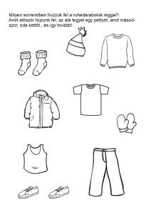 Sorrend - ruhadarabok