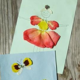 Virágszirom képek