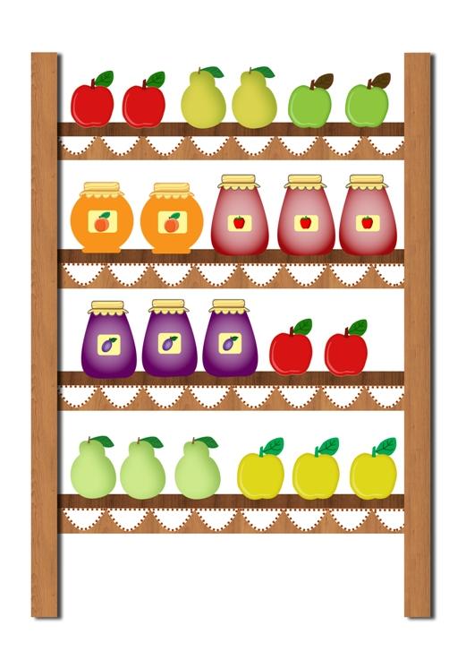 Őszi gyümölcsök – játékcsomag