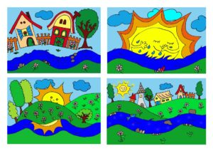 verstanító könyv - színes képek