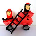 Tűzoltóautó – játékötletek ovisoknak a tűz témakörhöz