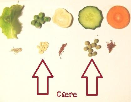 zöldség párosítás