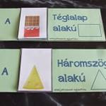 Formák – nyomtatható lapozó könyv