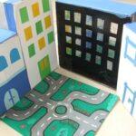 Játék a dobozokkal – házikó dobozból