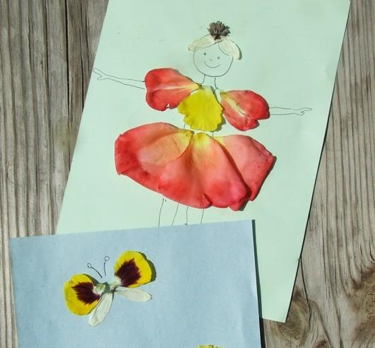 Virágszirom képek – nyári játékötlet gyerekeknek