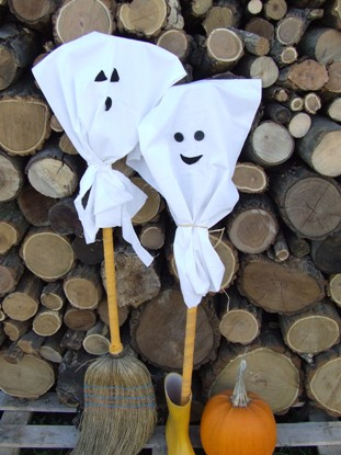 Még egy szellemes ötlet Halloweenre!