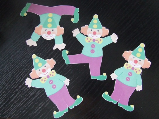 Bohócos játékcsomag ovis feladatok