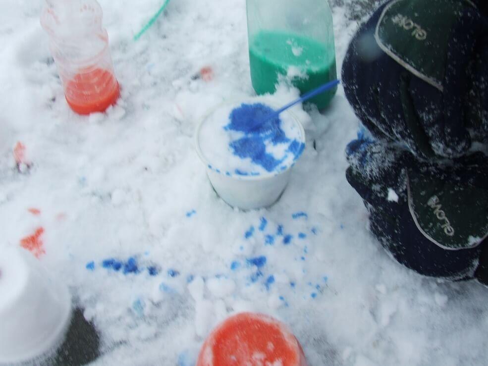 téli játékötlet óvodás gyerekeknek