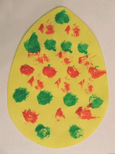 Festett tojások – húsvéti alkotás gyerekekkel
