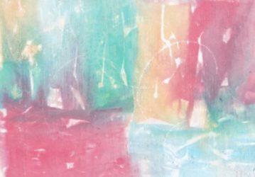 Játék az esőben: eső festmények