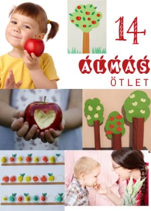 14 almás ötlet