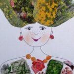 Tavasz tündér – tavaszi kreatív ötlet gyerekeknek