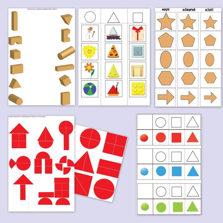Ismerd meg a formákat! ovis játékok