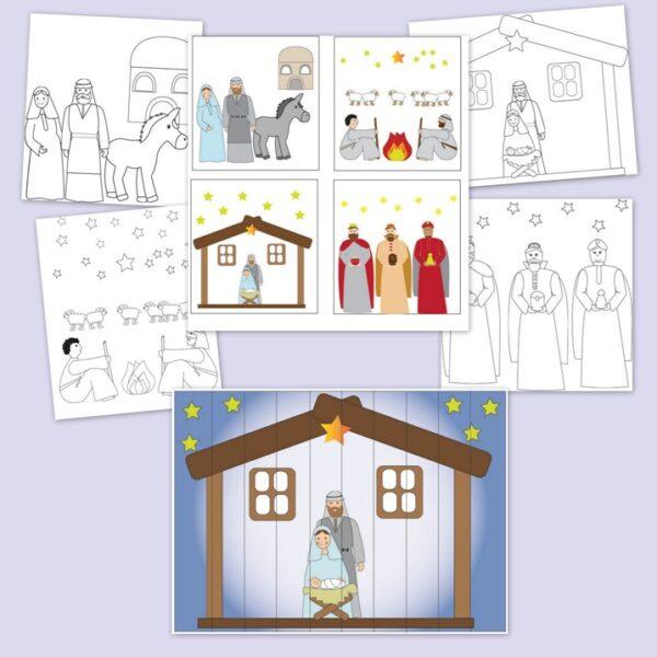 karácsonyi ovis feladatok