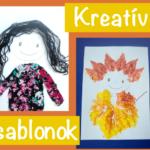 Kreatív sablonok festéshez, nyomdázáshoz és más alkotásokhoz