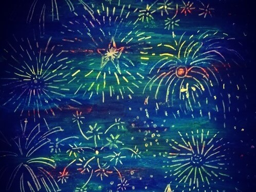 Tűzijáték rajz – kreatív ötletek gyerekeknek