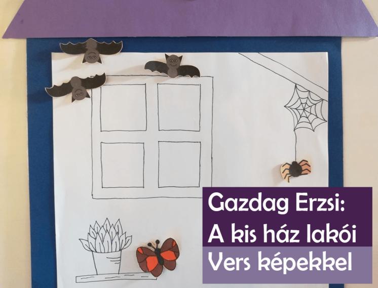 Erdő szélén kicsi ház –  vers képekkel – mit csinálnak az állatok télen?
