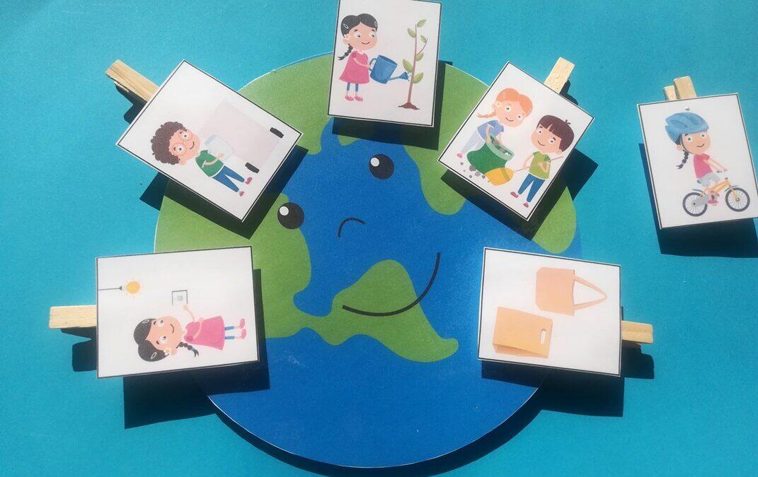 Föld napja – nyomtatható játékok ovisoknak