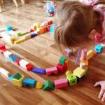 8 Szórakoztató játék építőkockával