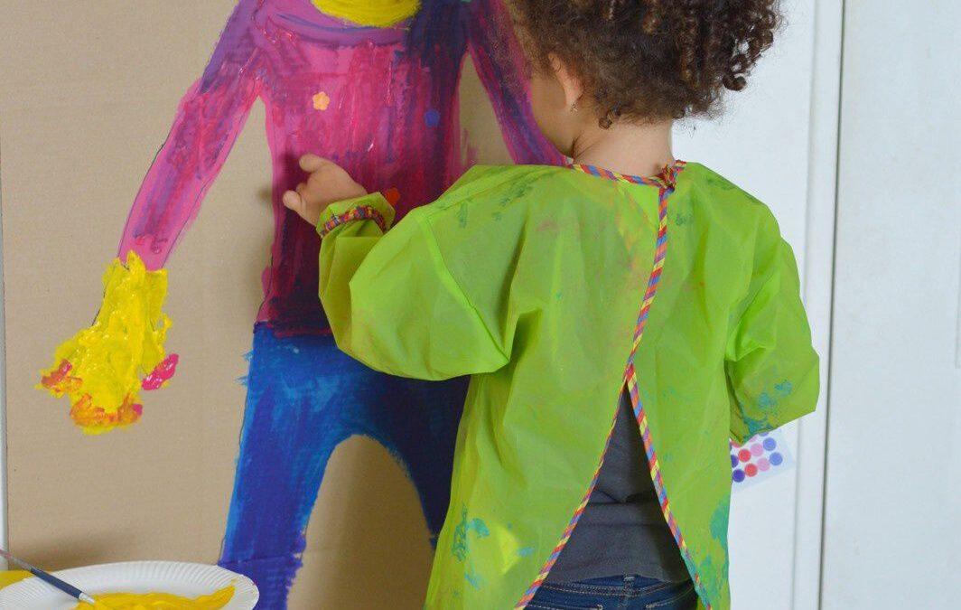 Ábrázoló játékok a testrészek megismerésére